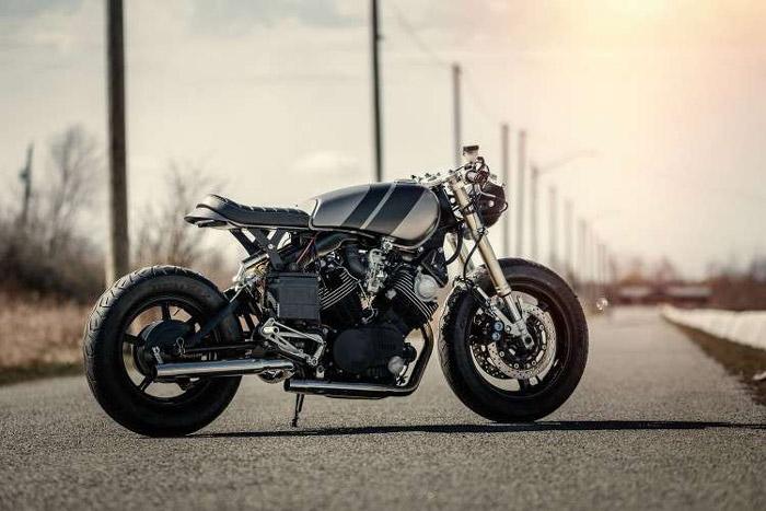 Chiếc Yamaha Virago độ Cafe Racer hoàn chỉnh của Bal Deo