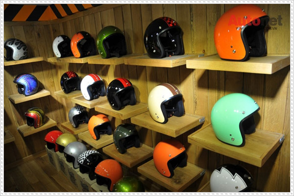 Địa chỉ bán mũ bảo hiểm cafe racer uy tín giá rẻ tại TPHCM
