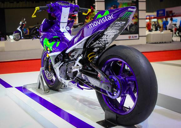 Phiên bản exciter 150 độ đuôi theo phong cách của dòng xe đua thể thao YZR-M1