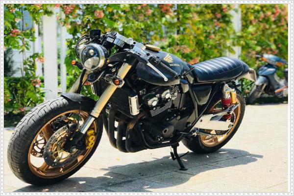 Honda CB400 độ Cafe Racer cực chất