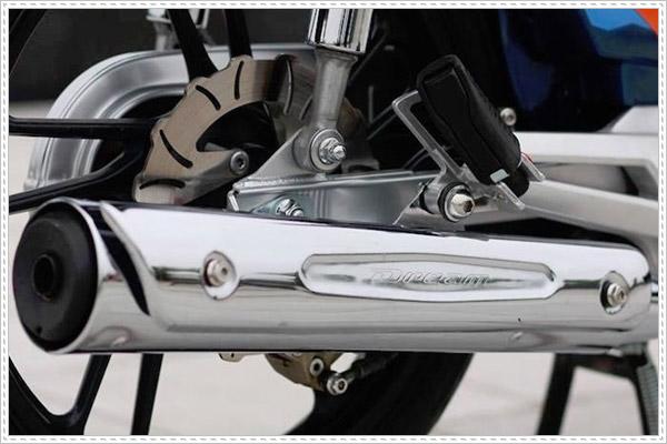 Dream độ pô xe Dream thái 125 vừa cổ điển vừa thu hút