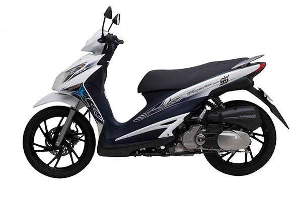 Suzuki Hayate 125 có tốn xăng không?