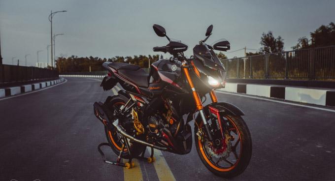 Tổng thể thiết kế của chiếc Yamaha Fz150i độ