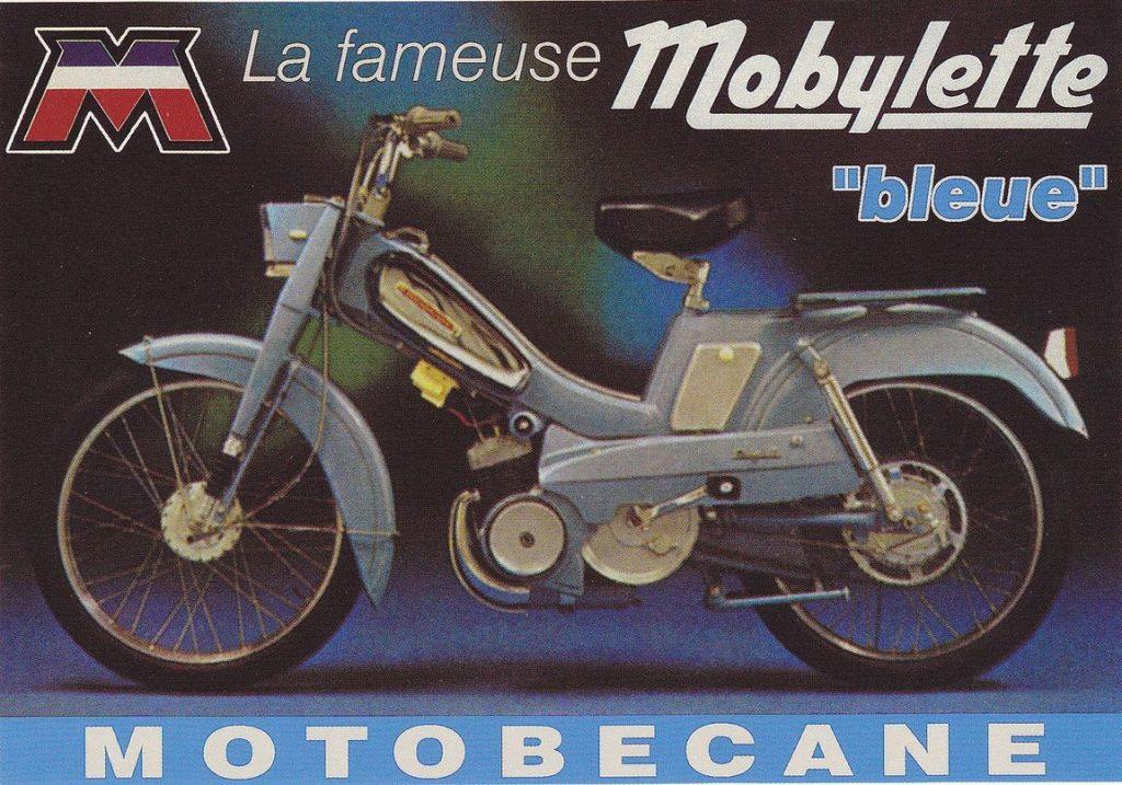 Mobylette của Motobecane