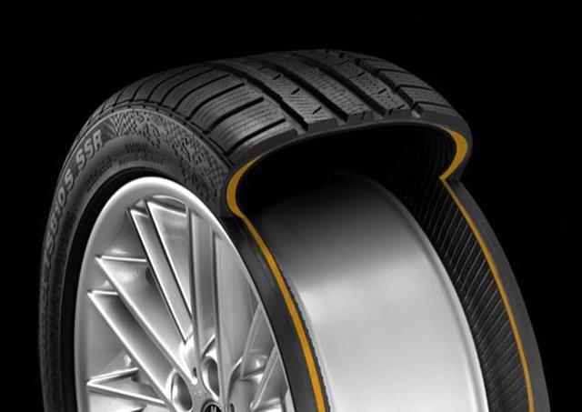 Hình ảnh mặt cắt của lốp không săm