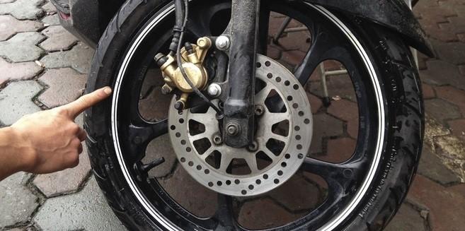 Nhược điểm của lốp không săm