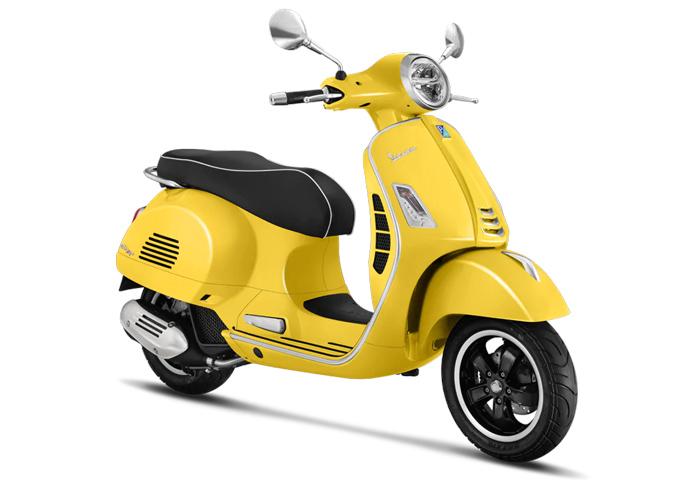 Vespa GTS 150  phiên bản màu vàng nổi bật