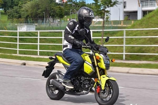 Honda MSX 125 - moto cho người cao 1m60