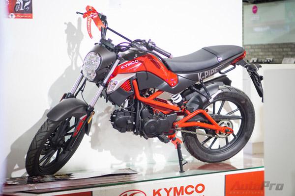 Thiết kế Kymco K-pipe 125 - xe dành cho nam đẹp