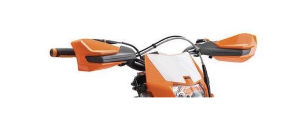Tay lái xe KTM 200 EXC