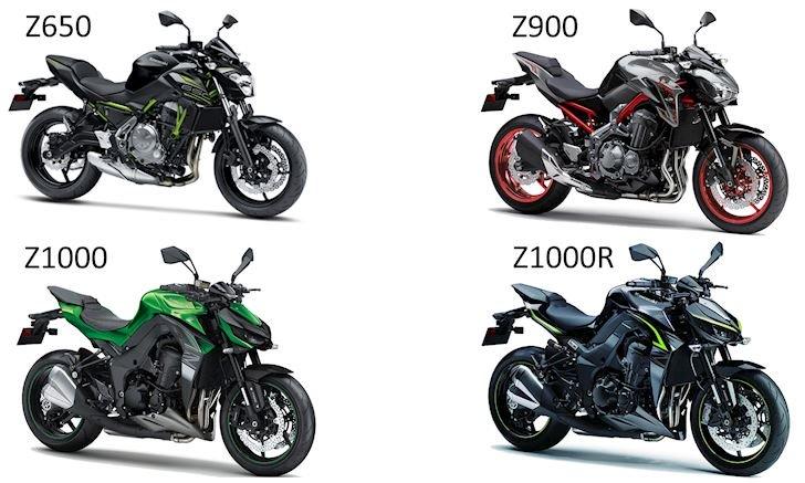 Z-Series của nhà Kawasaki