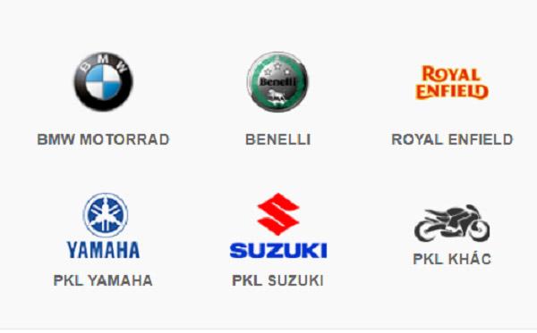 Tổng hợp các thương hiệu xe phân khối lớn tại Việt Nam