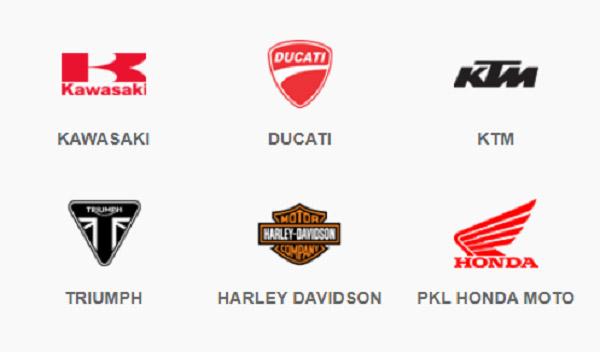 Một số hãng xe phân khối lớn hiện nay