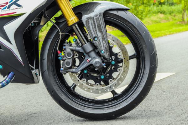 Tham khảo độ bánh xe cho Exciter 150