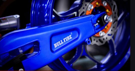Gắp độ bull fire gắn trên exciter 150