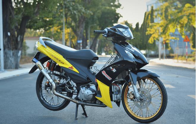 Suzuki axelo độ sức mạnh động cơ
