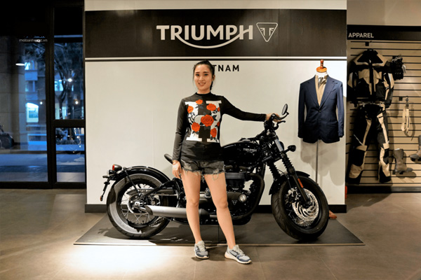 Thương hiệu xe phân khối lớn Triumph