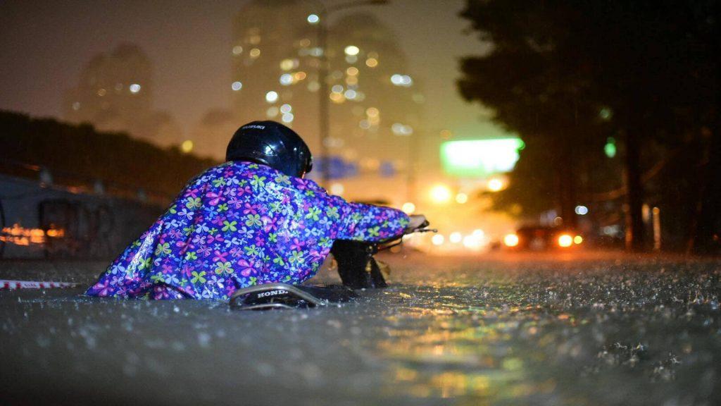 Tình trạng này không hiếm thấy vào mùa mưa.